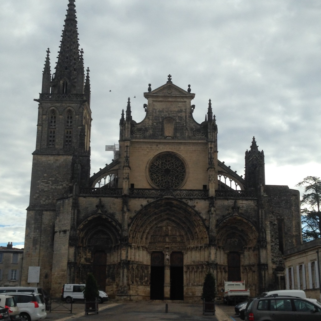 The Bazas cathedral