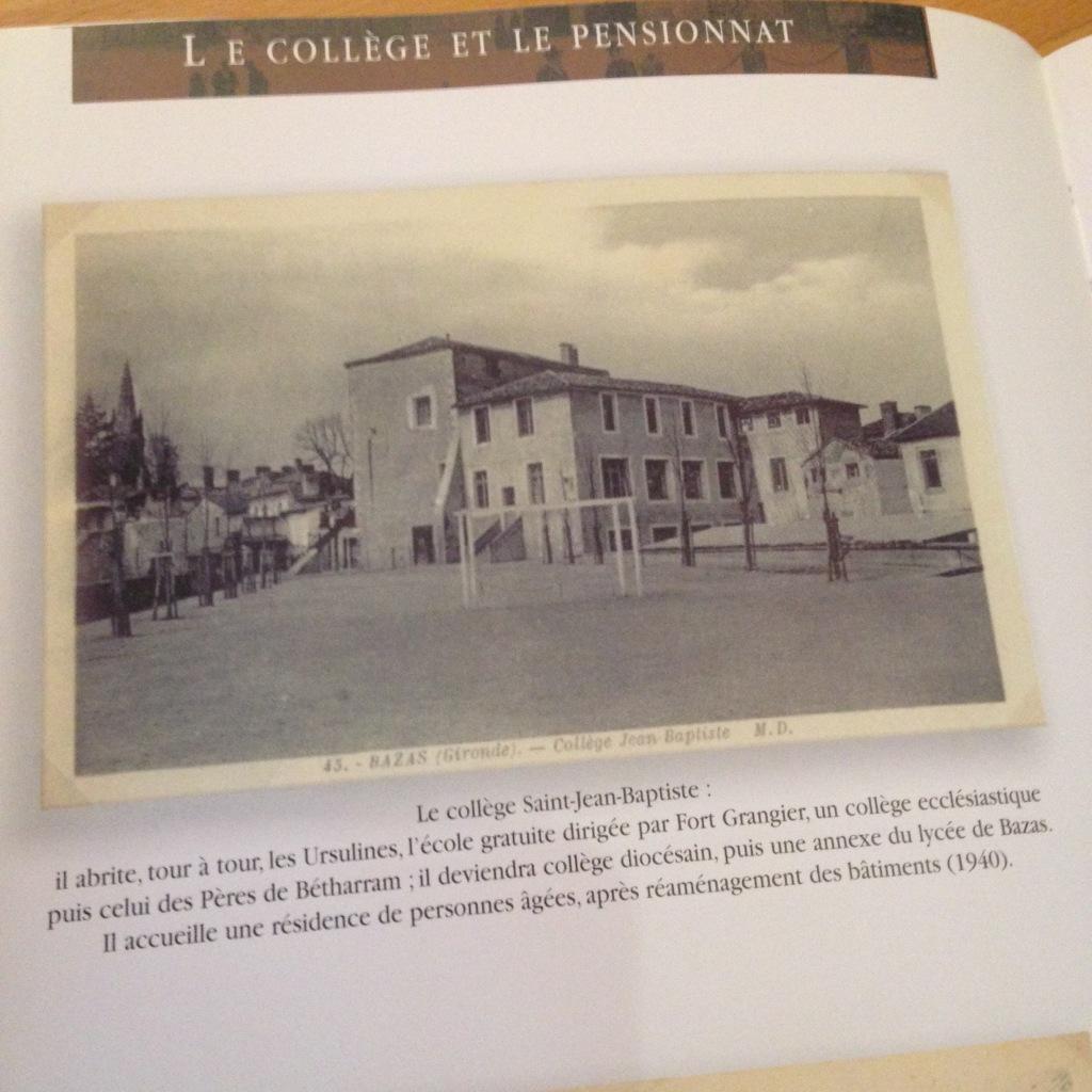 St. Jean school in 1940
